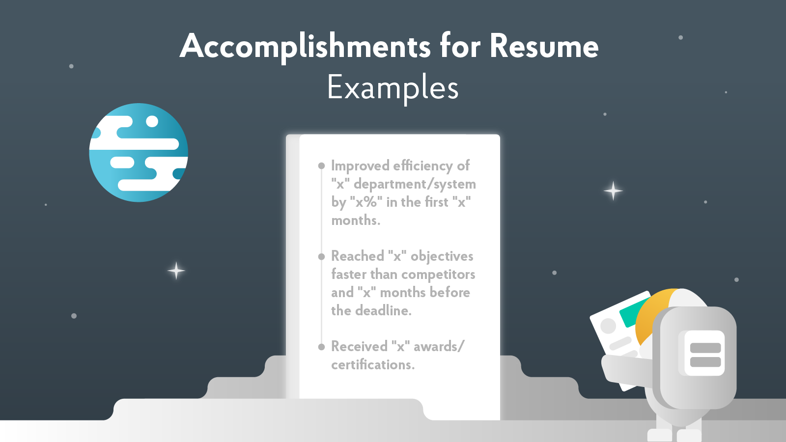 40+ Achievements to Write in Your Resume [2019 Examples]