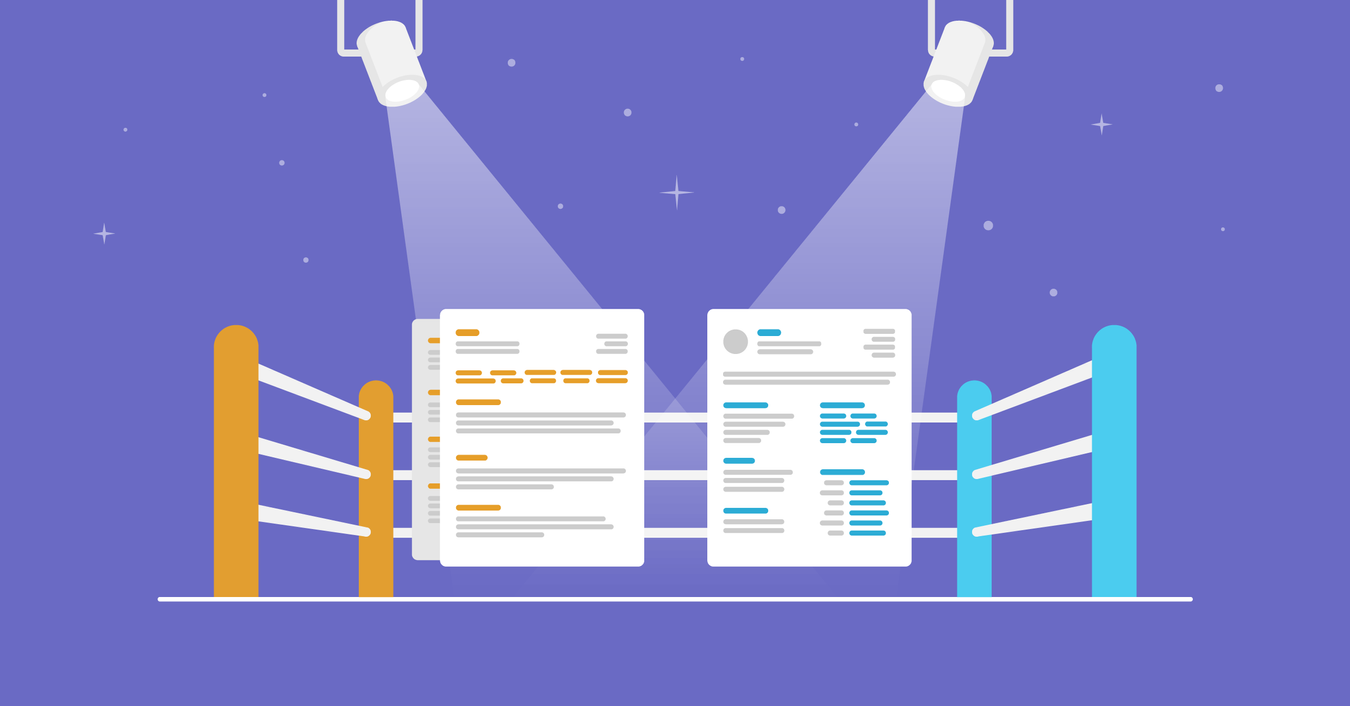 image for article CV vs. Resume - What are the Differences & Definitions [+ Examples]