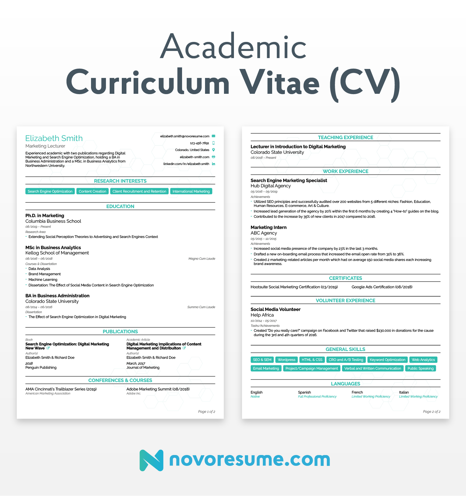 CV vs. Resume - What are the Differences & Definitions [+ ...