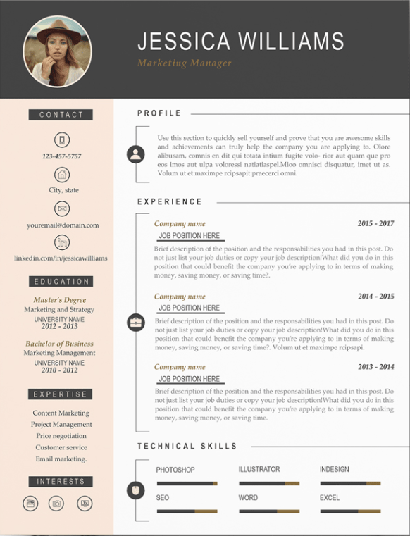 30 Creative Resume Examples For Every Field In 2020