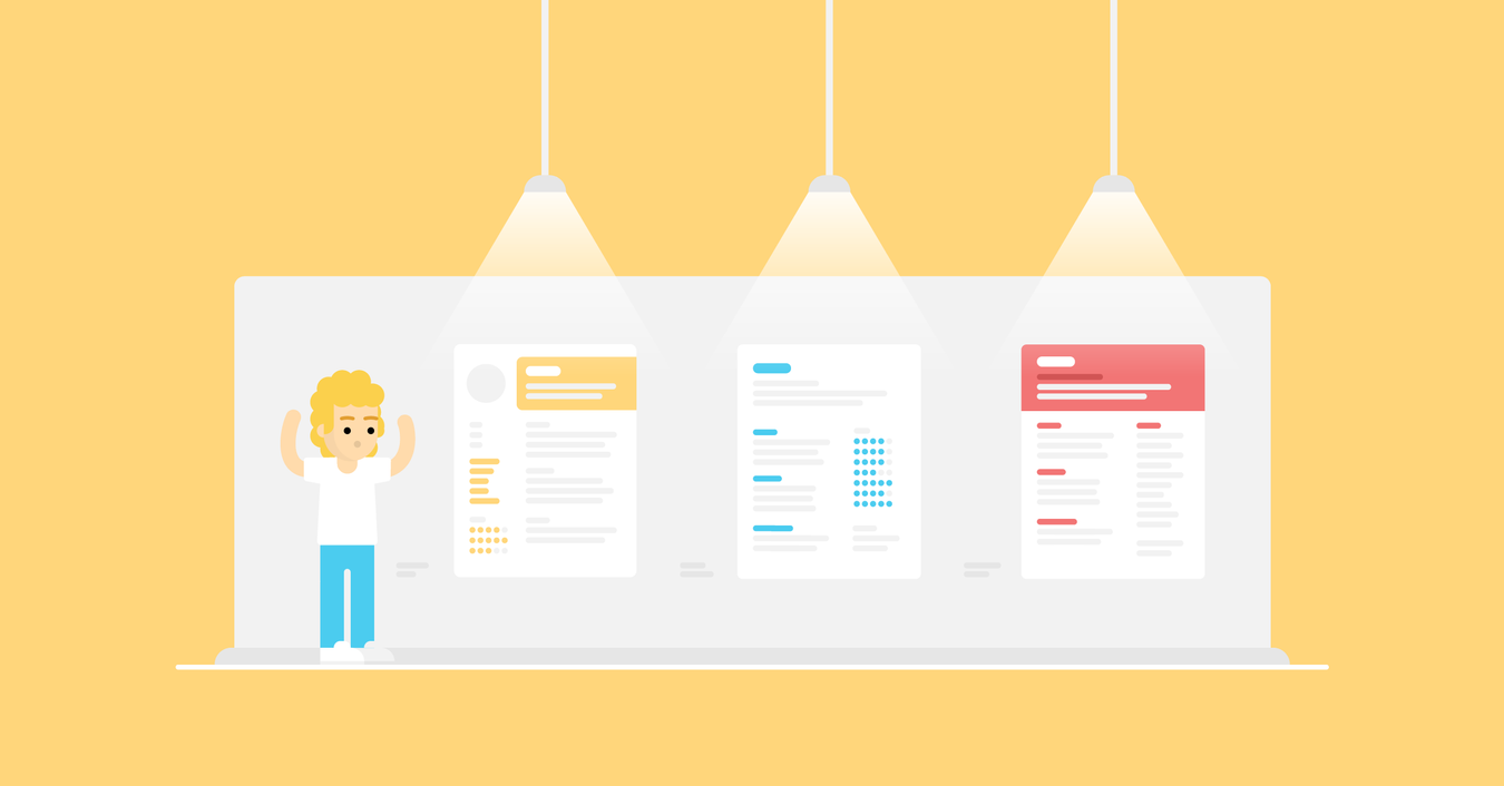 image for article 20+ One-Page Resume Templates [Free Download]