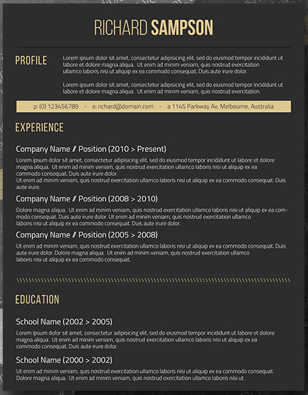Freesumes Resume Templates from d.novoresume.com