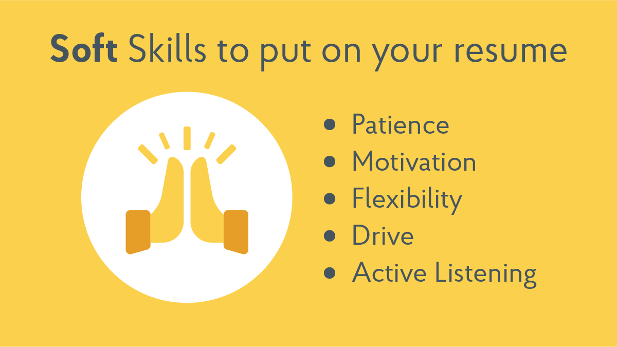 Soft Skills Just As Important As >> 150 Must Have Skills For Any Resume With Tips Tricks