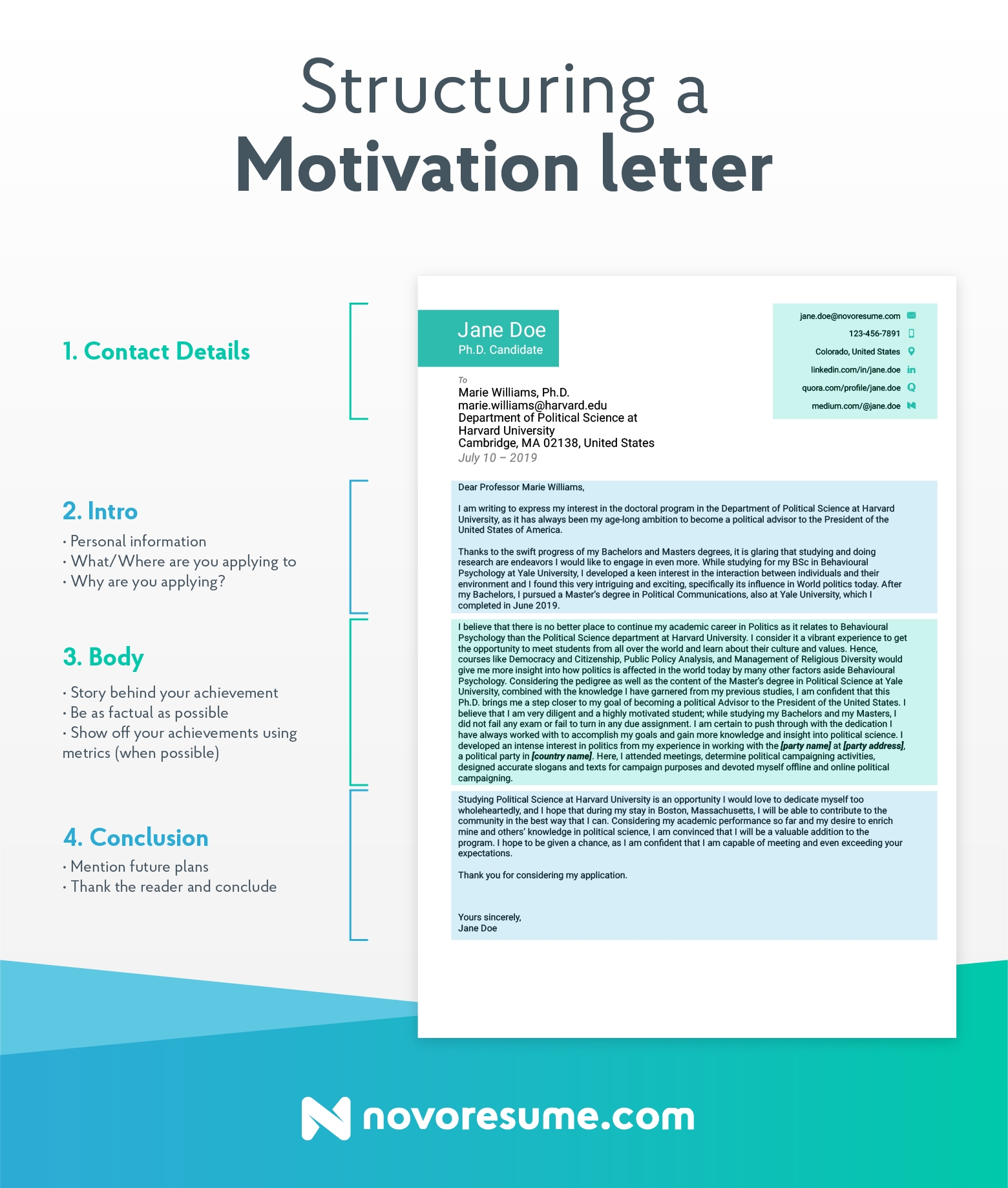 How to Write a Motivational Letter (and Get Accepted