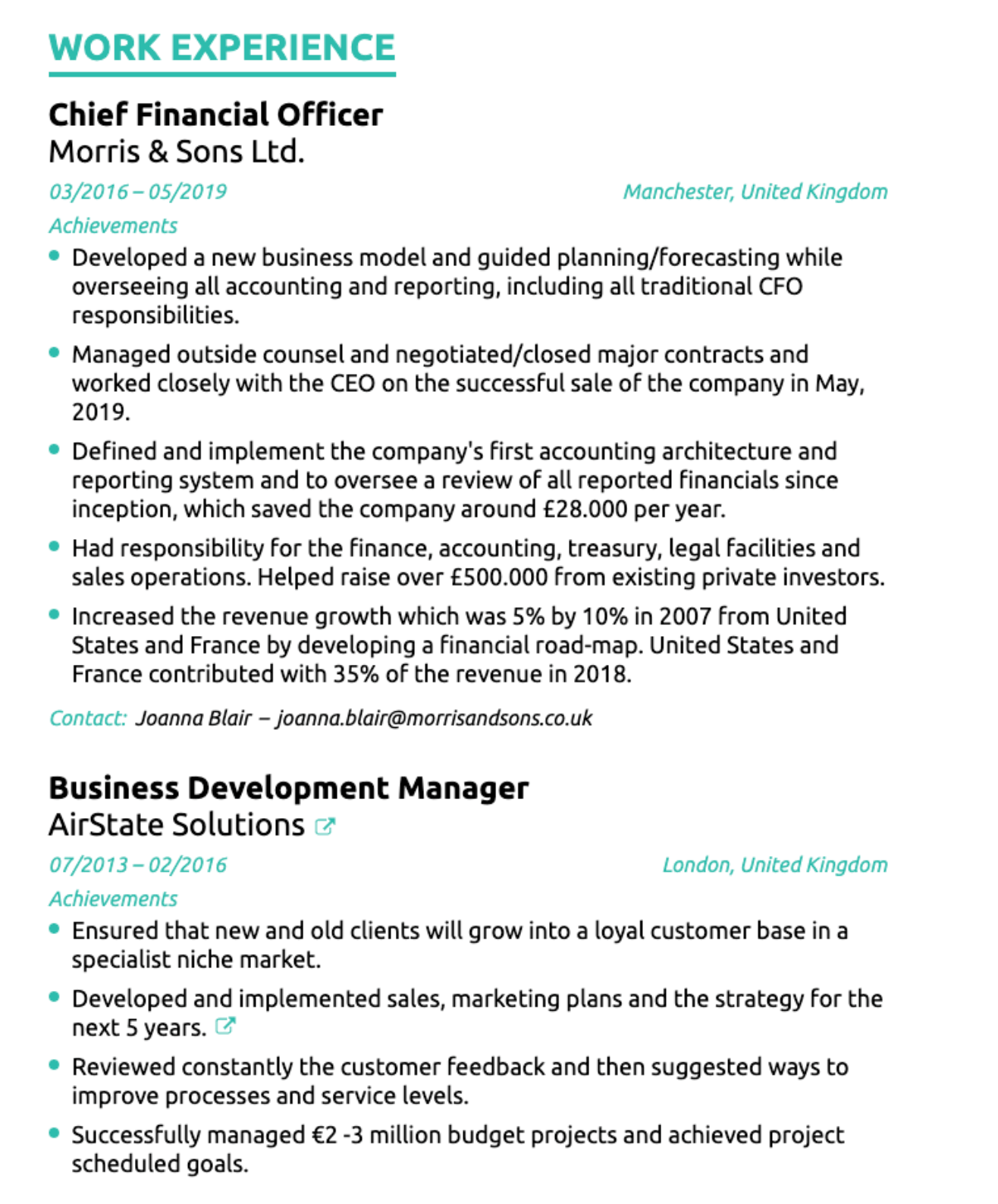 How To Write A Cv That Gets Noticed With 2020 Examples