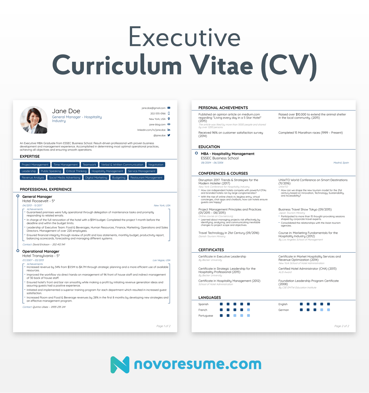 How To Write A Cv Curriculum Vitae In 2020 31 Examples