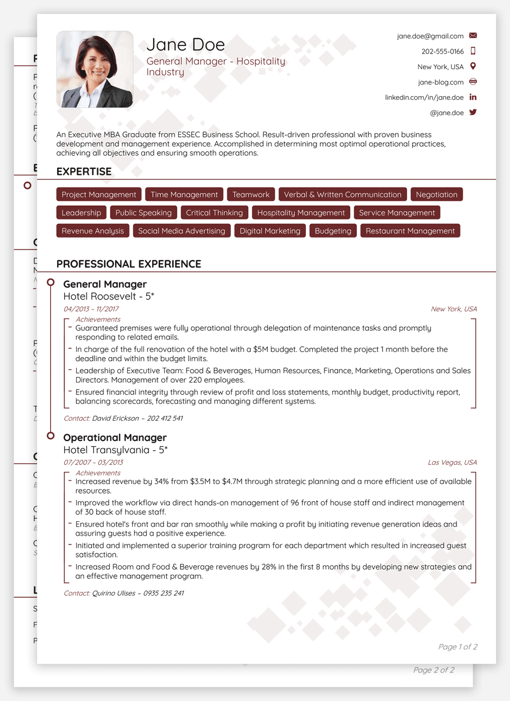 21st century cv templates crafted in under 5 minutes modern cv template yelopaper