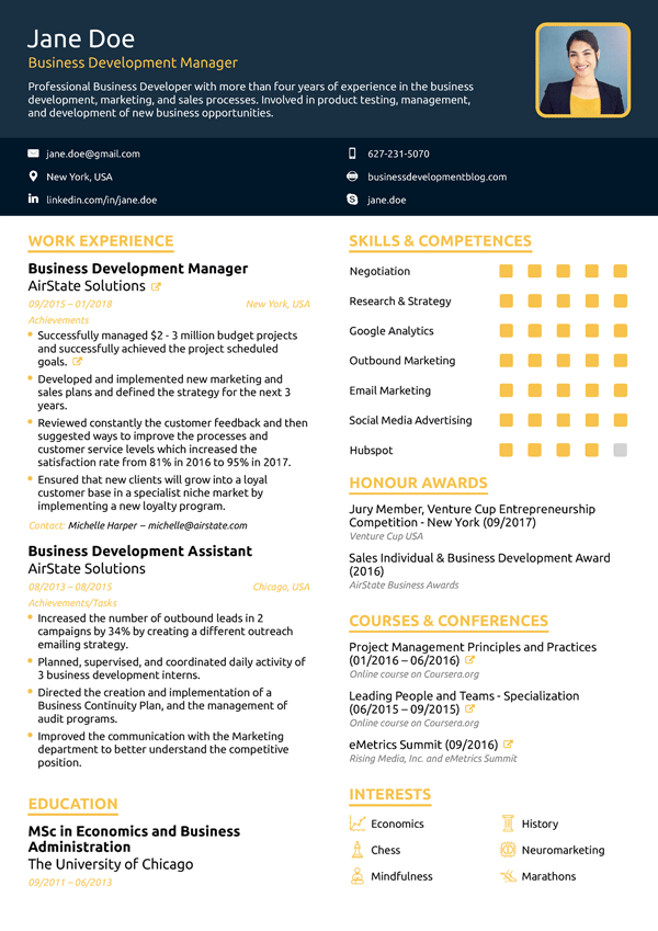 Resume Builder for 2019 | Free Resume Builder | Novorésumé