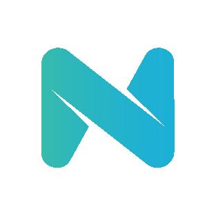 colorful novoresume simple logo