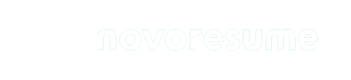 white novoresume logo